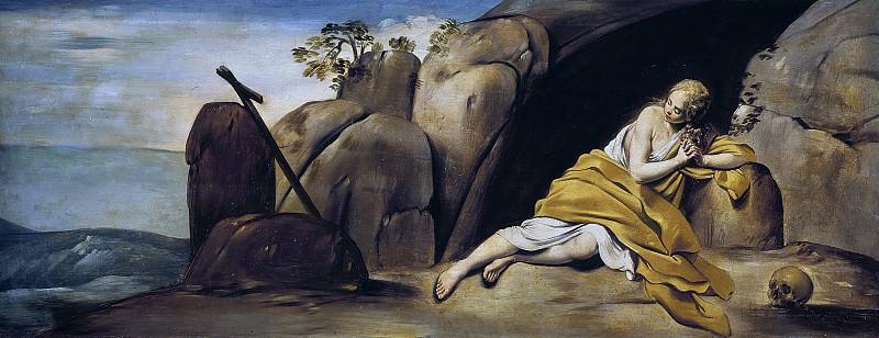 Maíno, Fray Juan Bautista -- La Magdalena penitente en la gruta de Sainte-Baume. Part 1 Prado museum