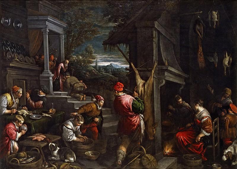 Бассано, Франческо и Якопо -- Возвращение блудного сына. Часть 1 Музей Прадо