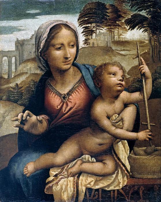 Llanos, Fernando -- La Virgen del huso. Part 1 Prado museum