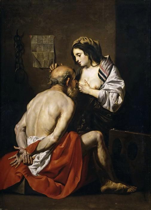 Crayer, Gaspar de -- La Caridad romana. Part 1 Prado museum