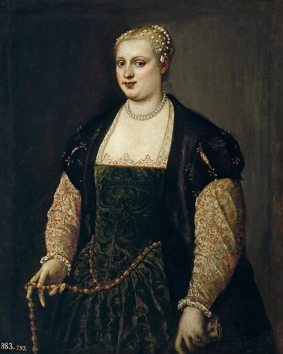 Veronese, Paolo -- Lavinia Vecellio. Part 1 Prado museum