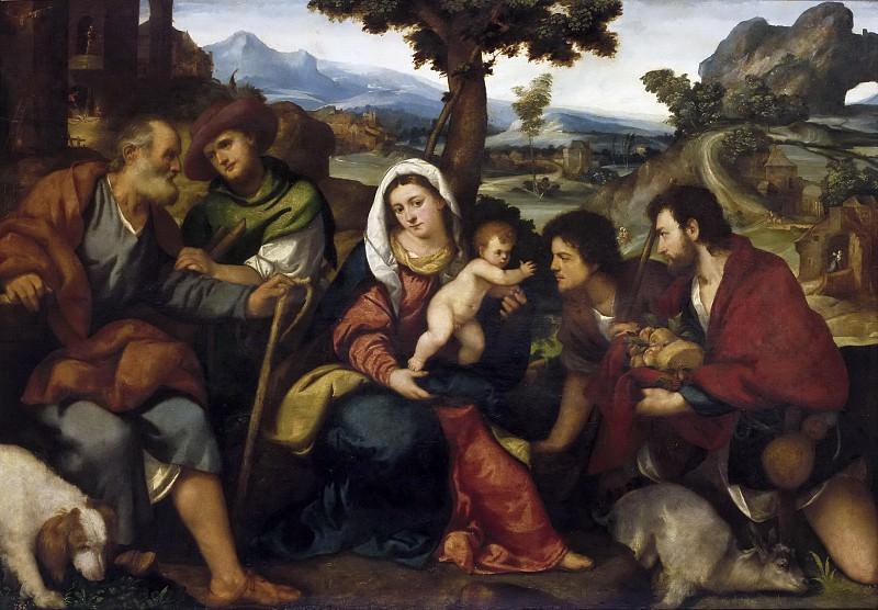 Бонифацио деи Питати -- Поклонение пастухов. Часть 1 Музей Прадо
