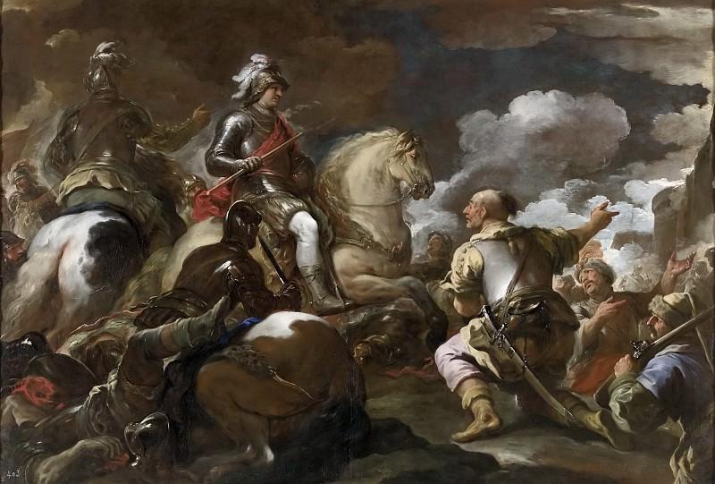 Giordano, Luca -- Toma de una plaza fuerte. Part 1 Prado museum