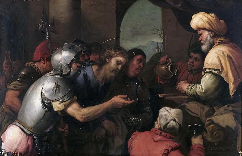 Джордано, Лука -- Пилат умывает руки. Часть 1 Музей Прадо