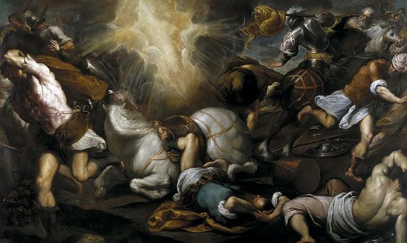 Palma il Giovane -- Conversión de San Pablo. Part 1 Prado museum