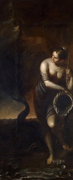 Аноним -- Аллегория Воды. Часть 1 Музей Прадо