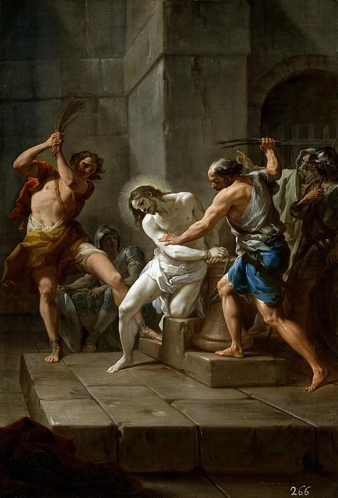 Giaquinto, Corrado -- La Flagelación de Cristo. Part 1 Prado museum