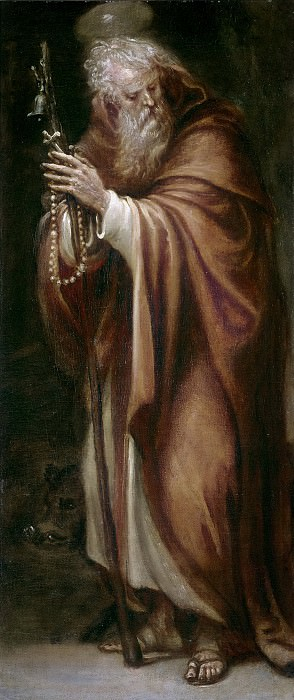 Rizi, Francisco -- San Antonio Abad. Part 1 Prado museum