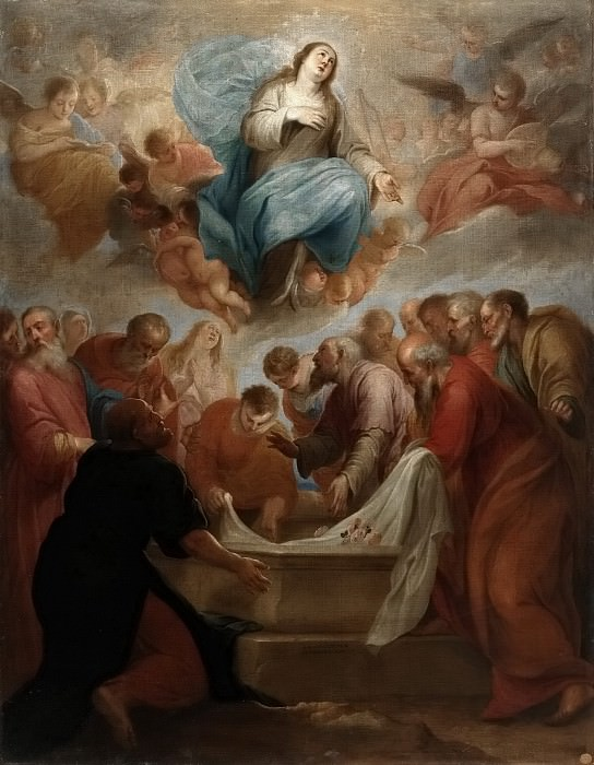 Alfaro, Juan de -- La Asunción de la Virgen. Part 1 Prado museum