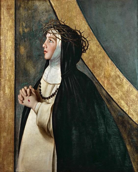 Maíno, Fray Juan Bautista -- Santa Catalina de Siena. Part 1 Prado museum