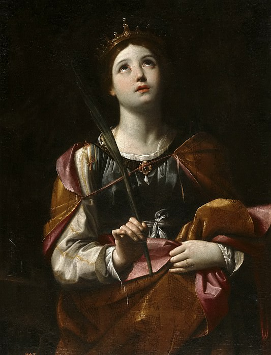Santa Catalina. Guido Reni