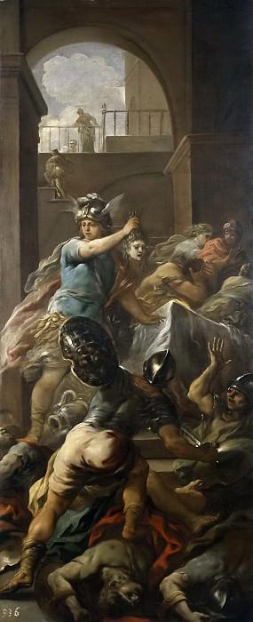 Джордано, Лука -- Персей с головой Медузы. Часть 1 Музей Прадо