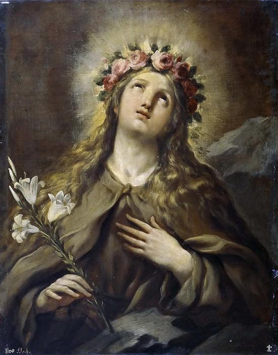 Джордано, Лука -- Святая Розалия. Часть 1 Музей Прадо