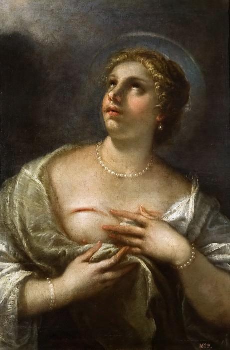 Giordano, Luca -- Santa Águeda. Part 1 Prado museum