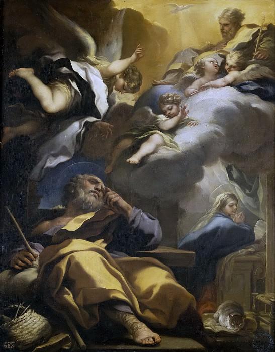 Джордано, Лука -- Сон св Иакова. Часть 1 Музей Прадо