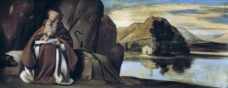 Maíno, Fray Juan Bautista -- San Antonio Abad en un paisaje. Part 1 Prado museum