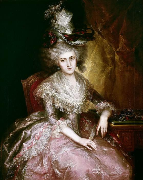 Лопес и Портана, Висенте -- Мария Пилар де ла Серда и Марина, герцогиня Нахера. Часть 1 Музей Прадо