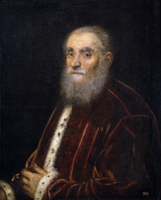 Tintoretto, Jacopo Robusti -- Marco Grimani. Part 1 Prado museum