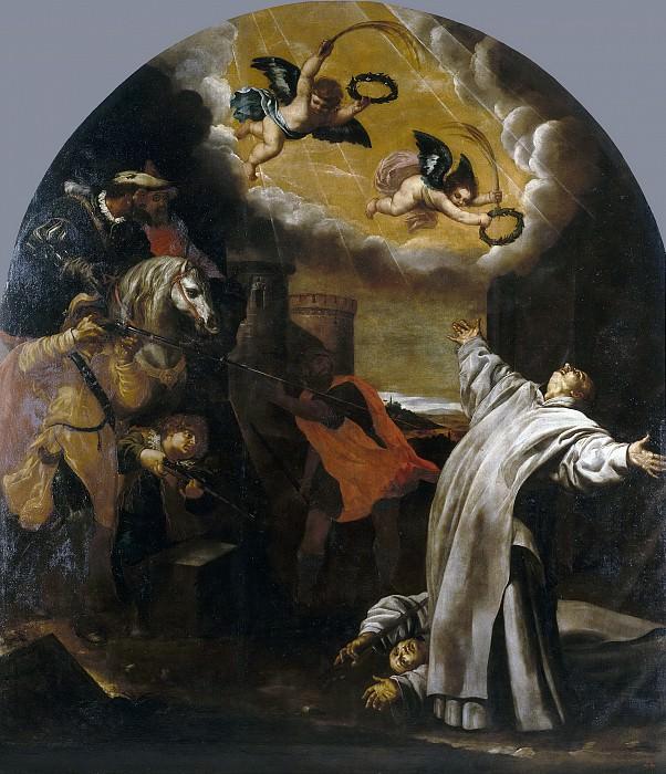 Carducho, Vicente -- El martirio de Roermond de Vinzenz Herck y Jan van Loewen. Part 1 Prado museum