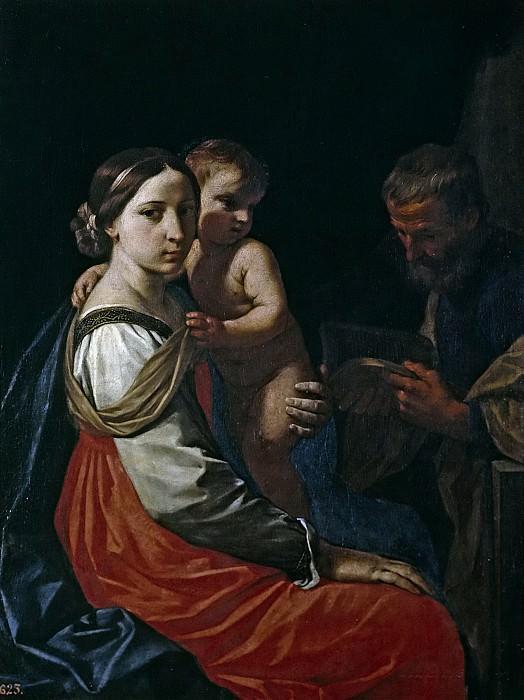 Cantarini, Simone -- La Sagrada Familia. Part 1 Prado museum
