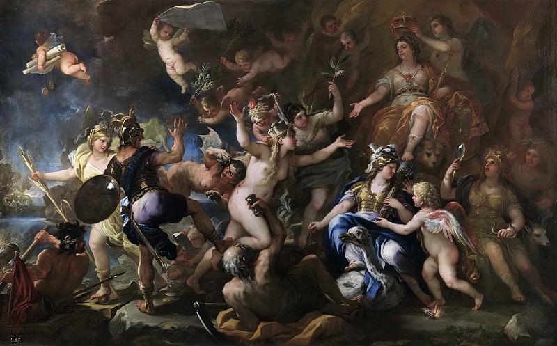 Giordano, Luca -- Mesina restituida a España. Part 1 Prado museum