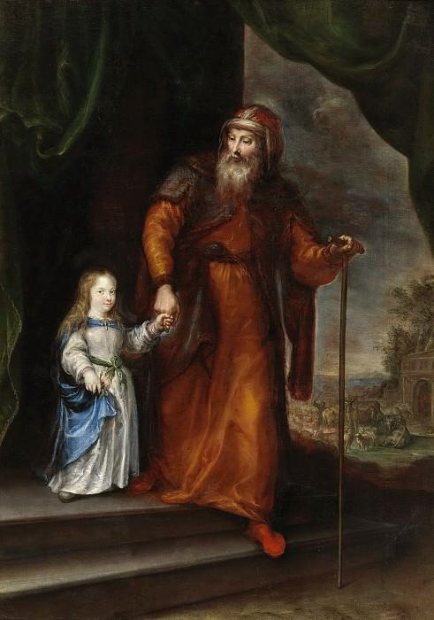 Camilo, Francisco -- San Joaquín conduciendo a la Virgen niña de la mano. Part 1 Prado museum