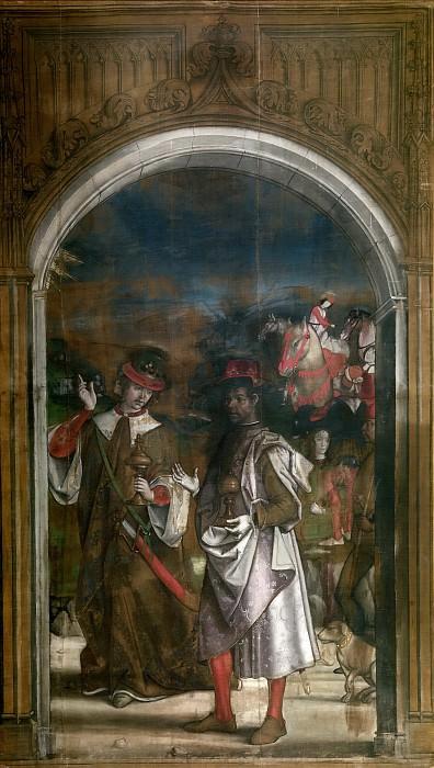 Berruguete, Pedro -- Dos Reyes Magos. Part 1 Prado museum