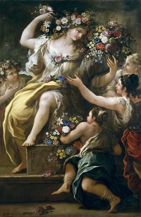 Giordano, Luca -- La diosa Flora. Part 1 Prado museum