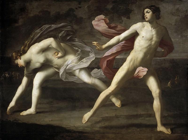 Hipómenes y Atalanta. Guido Reni