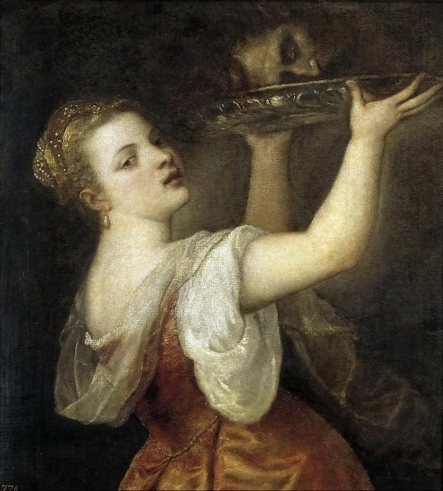 Саломея с головой Иоанна Крестителя. Тициан (Тициано Вечеллио)