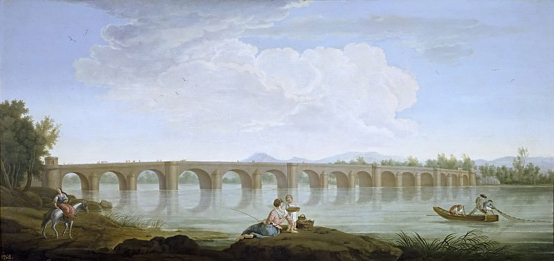 Санчес, Рамон Мариано -- Мост Бадахос. Часть 1 Музей Прадо