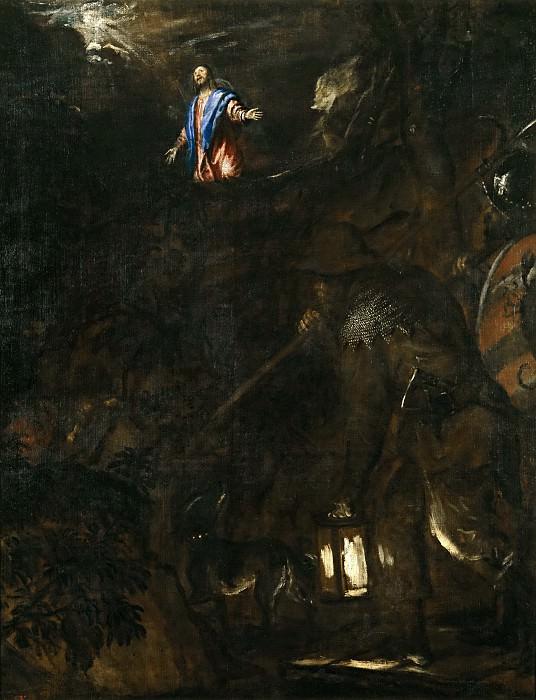 La Oración en el Huerto. Titian (Tiziano Vecellio)