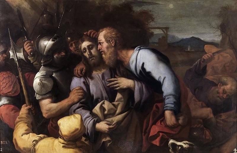Джордано, Лука -- Поцелуй Иуды. Часть 1 Музей Прадо