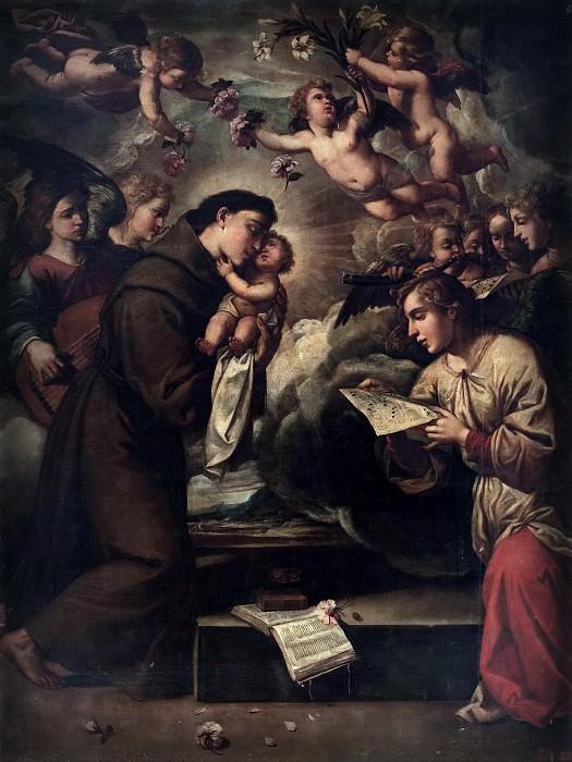 Anónimo -- San Antonio de Padua. Part 1 Prado museum
