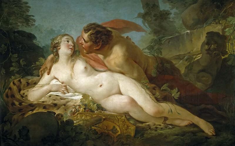 Pierre, Jean Baptiste Marie -- Júpiter y Antíope. Part 1 Prado museum