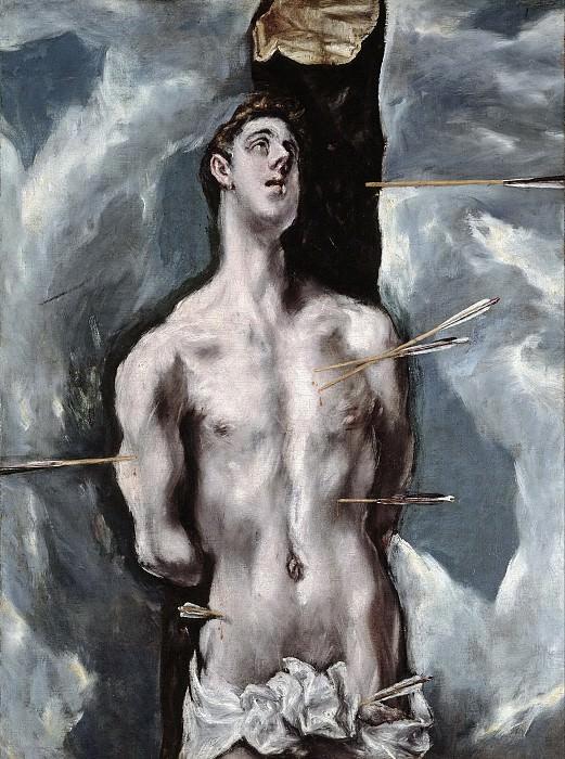 El Greco -- San Sebastián. Part 1 Prado museum