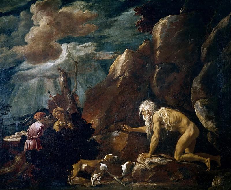 Orrente, Pedro de -- San Juan Crisóstomo. Part 1 Prado museum