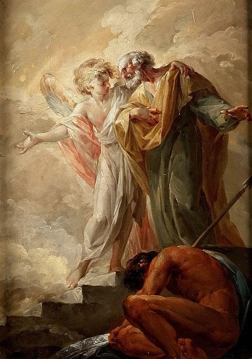 Лопес и Портана, Висенте -- Освобождение св Петра. Часть 1 Музей Прадо