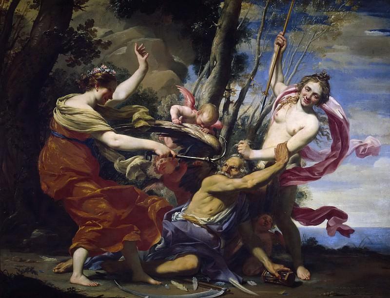Vouet, Simon -- El Tiempo vencido por la Esperanza, el Amor y la Belleza. Part 1 Prado museum