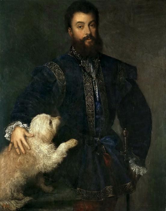 Federico II Gonzaga, I duque de Mantua. Titian (Tiziano Vecellio)