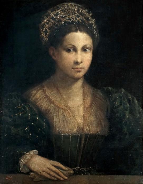 Dossi, Dosso -- La dama del turbante verde. Part 1 Prado museum