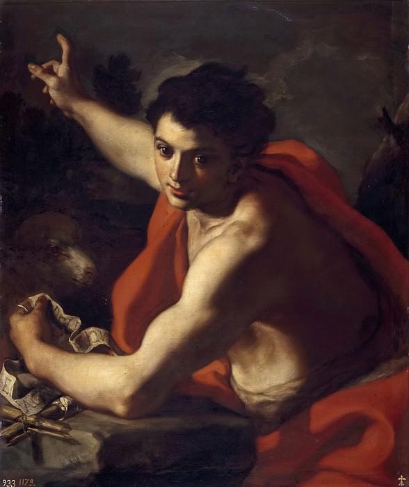 Солимена, Франческо -- Иоанн Креститель. Часть 1 Музей Прадо