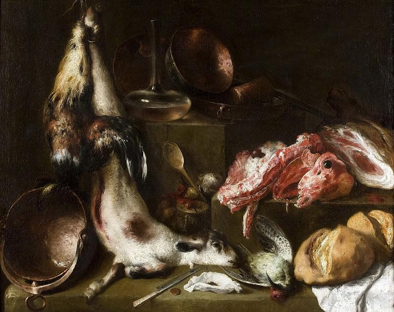 Сересо, Матео -- Кухонный натюрморт. Часть 1 Музей Прадо