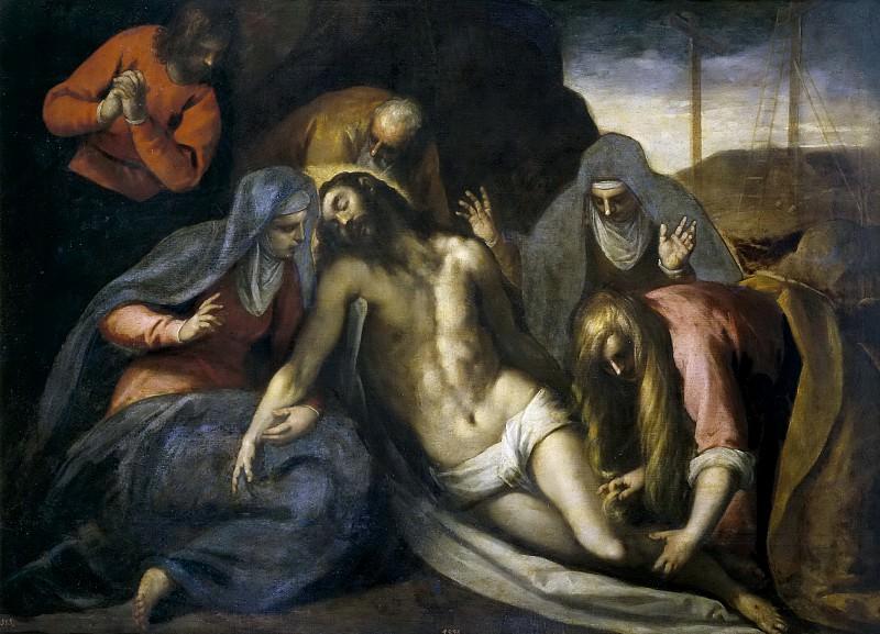 Palma il Giovane -- La Piedad. Part 1 Prado museum
