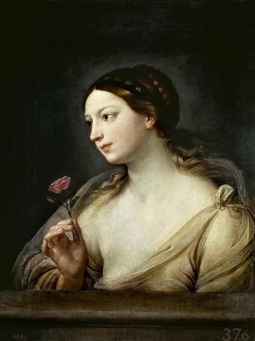 Рени, Гвидо -- Девушка с розой. Часть 1 Музей Прадо