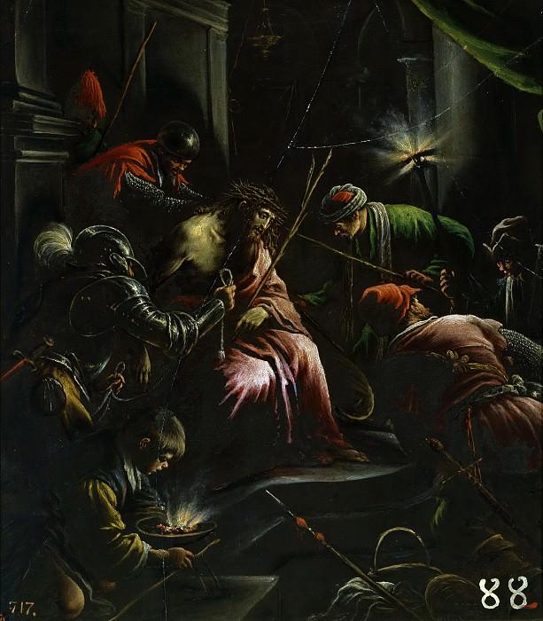 Bassano, Leandro -- La Coronación de espinas. Part 1 Prado museum