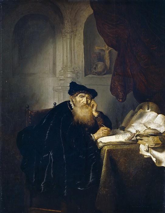 Koninck, Salomon -- Un filósofo. Part 1 Prado museum