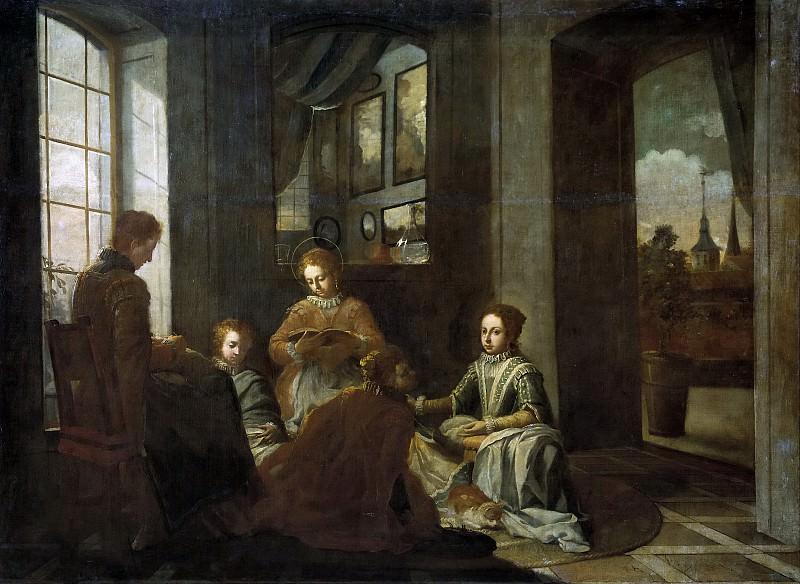 Гарсиа де Миранда, Хуан -- Образование святой Терезы. Часть 1 Музей Прадо