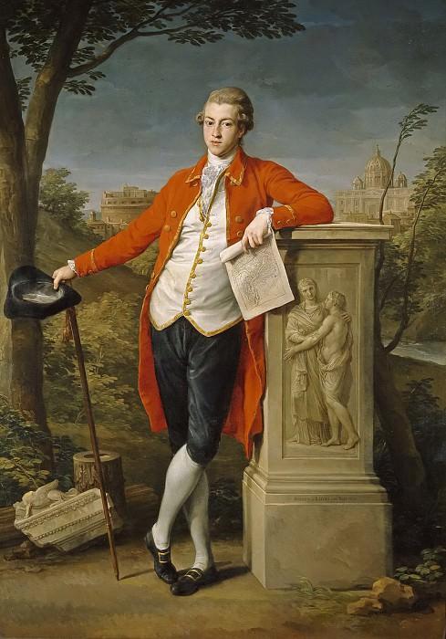 Batoni, Pompeo -- Francis Basset, I barón de Dunstanville. Part 1 Prado museum