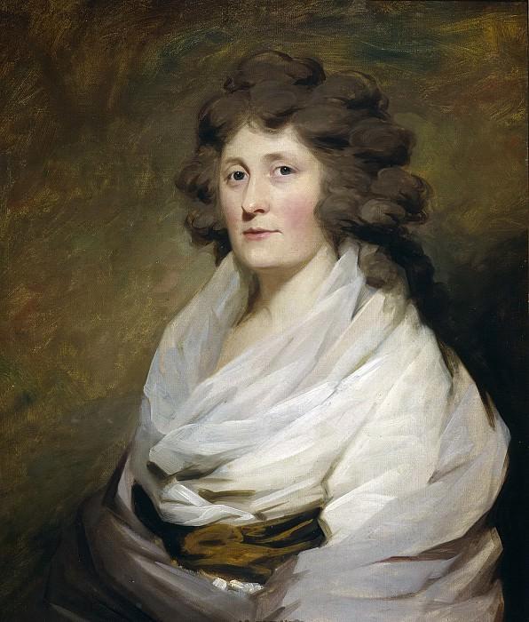 Raeburn, Henry -- Mrs. MacLean of Kinlochaline. Part 1 Prado museum
